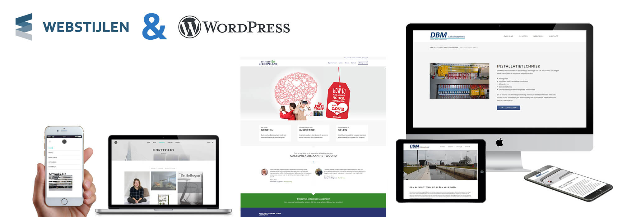 Webstijlen & WordPress