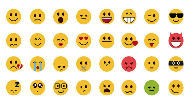 WordPress blog emoticons header