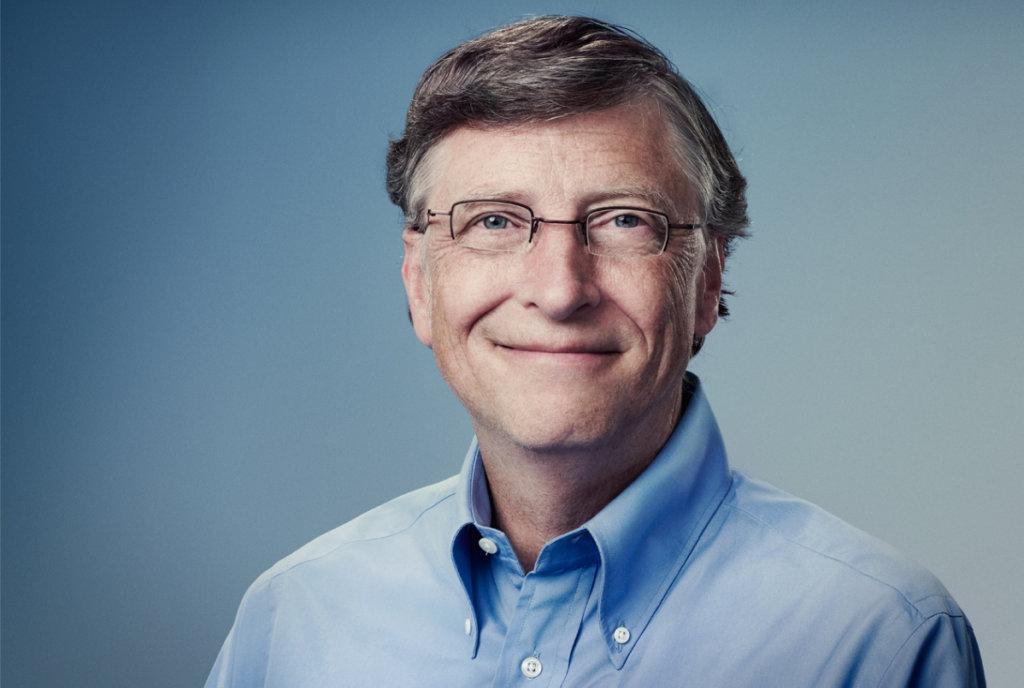 Bill Gates portret