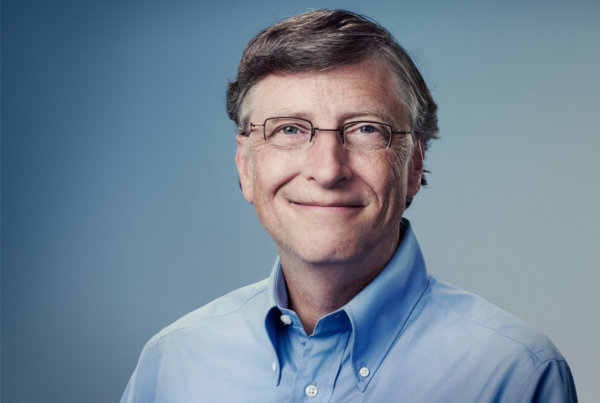 Bill Gates portret
